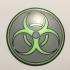 Biohazard Coaster image