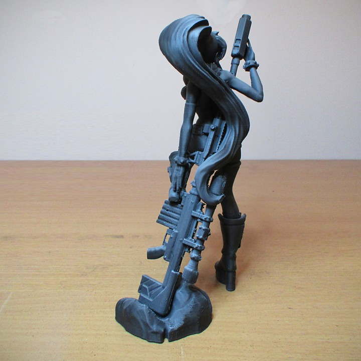 Gurren Lagann - Yoko Littner - 25 cm