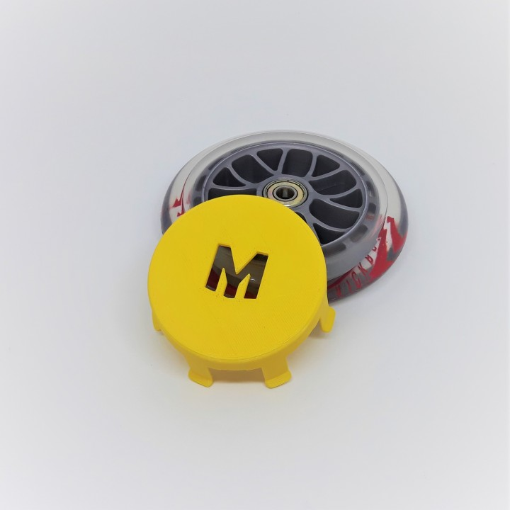 Wheel Whizzer for micro scooter (MyMiniFactory version)