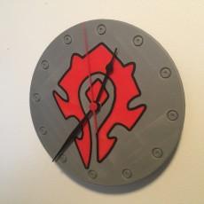 Emblem of the Horde Clock