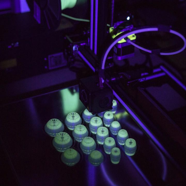 Mushroom Caps for Glowing Mushroom Light