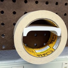 Picture of print of Peg Anything // Tape Roll Holder