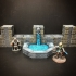 ScatterBlocks: Dwarven Fountain (28mm/Heroic scale) image