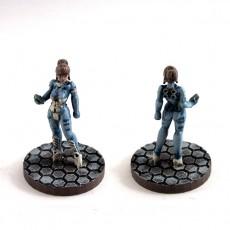 Alexandra Pryce, 28mm Miniature