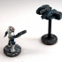 House Vermeni Gunhawk, 28mm Miniature image