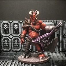 Metal Demon (28mm scale)