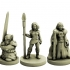 Fantasy Adventuring Party (18mm scale) image