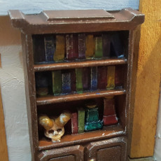 Picture of print of Delving Decor: Wizard's Shelf