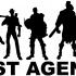 Lost Agency Stencil image