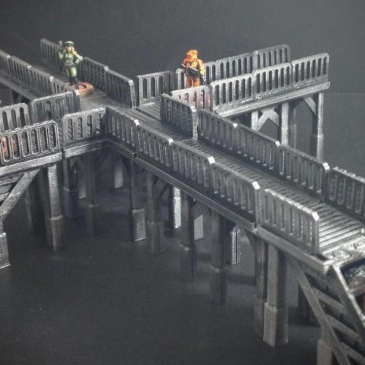 Modular Tech Catwalk (15mm scale)