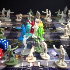 Resident Evil player pieces for Zombies!!!