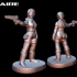 Resident Evil player pieces for Zombies!!! image