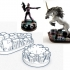 Magic Crystal 28mm Scale Miniature Bases image