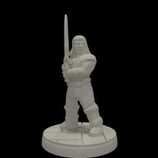 Bangsdar the (Modular) Barbarian (15mm scale)