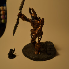 Picture of print of The Awoken (15mm scale)