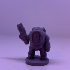 Picture of print of Dominion ExoKnight Mark V (18mm scale)