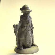 Picture of print of Wizard (18mm scale)