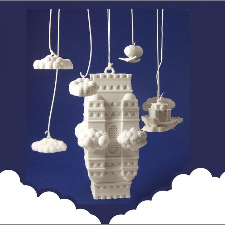 The Impossible Castle (Ornamental Mobile)