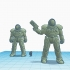 TinkerCAD Power Armored Trooper image