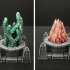 Delving Decor: Scrying Pool Alternate Inserts (28mm/Heroic scale) image