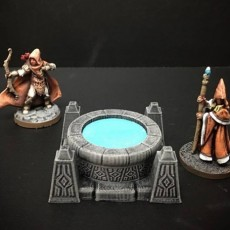 Delving Decor: Scrying Pool (28mm/Heroic scale)