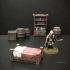 Delving Decor: Inn Bed (28mm/Heroic scale) primary image