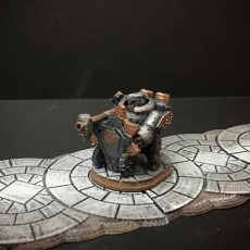 Netherforge Hammergonne (28mm/Heroic scale)
