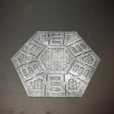 Sci-Fi Hex Flooring