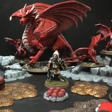 Delving Decor: Dragon Eggs (28mm/Heroic scale)