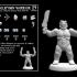 Trollspawn Warrior (18mm scale) image