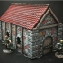 Medieval Cottage (28mm/Heroic scale and 15mm scale) image
