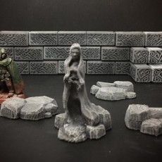 Delving Decor: Rocky Rubble (28mm/Heroic scale)