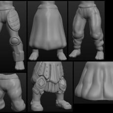 Sculptris OBJ Bits: Fantasy Pants and Skirts