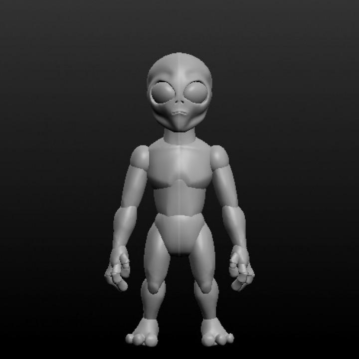 Sculptris Dummy: Graylien
