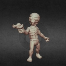 Graylien Abductor (28mm/Heroic scale and 15mm scale)