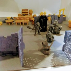 Picture of print of Delving Decor: Chaos Gate (28mm/Heroic scale)