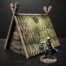 Viking Hut (28mm/Heroic scale)