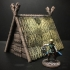 Viking Hut (28mm/Heroic scale) image
