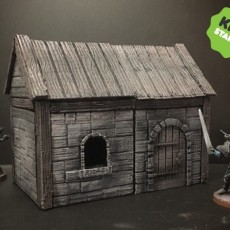Z.O.D. Medieval House Kit (28mm/Heroic scale)