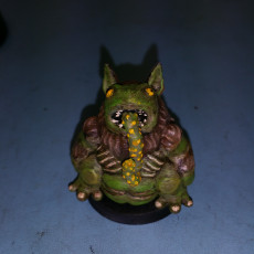 Picture of print of Tsathoggua (28mm/Heroic Scale