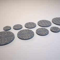 Z.O.D. Dungeon Nouveau Theme Bases (28mm/Heroic scale)