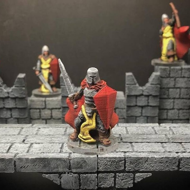 Knight (28mm scale Wrath & Ruin preview model)