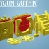 Z.O.D. Raygun Gothic Theme Bases (28mm/Heroic scale) image