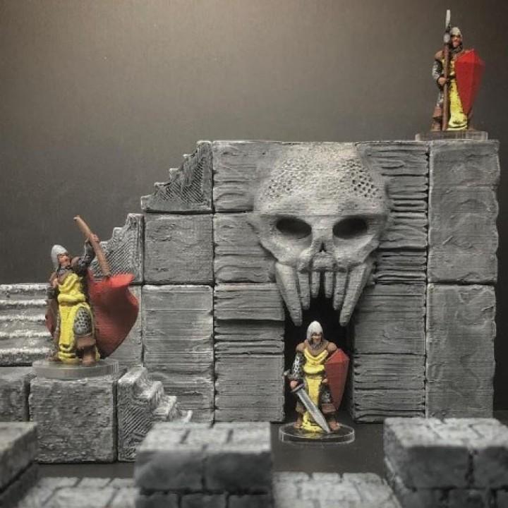 ScatterBlocks: Skull Gate (28mm/Heroic scale)