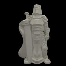 Knight w/Greatsword (28mm/Heroic scale)