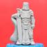 Knight w/Greatsword (28mm/Heroic scale) print image