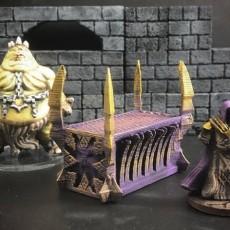 ScatterBlocks: Daemonic Altar (28mm/Heroic scale)