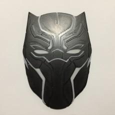 Black Panther Mask Coaster