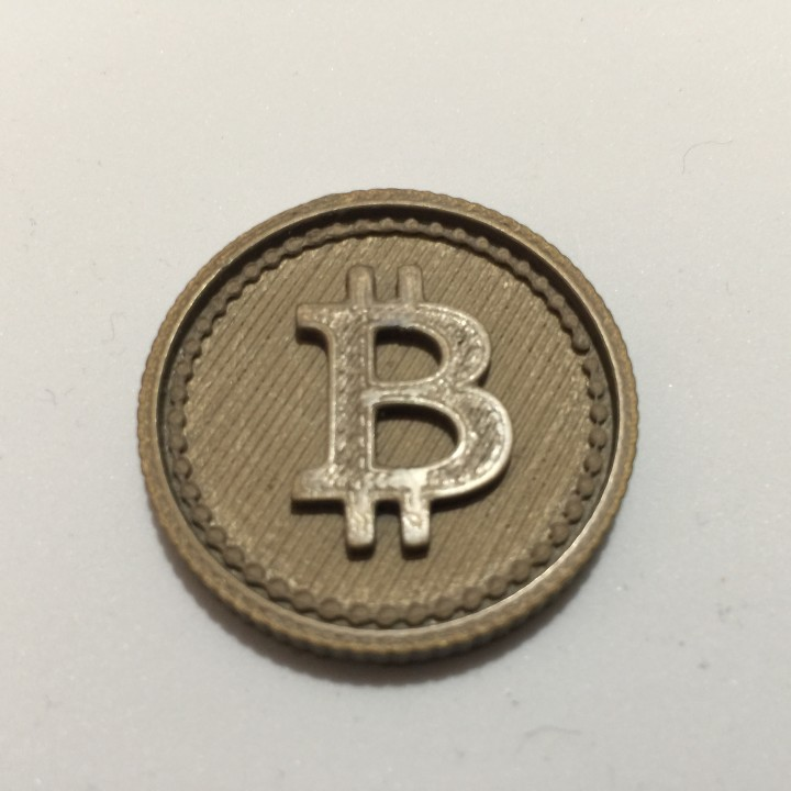 Bitcoin Cryptocurrency Token