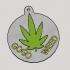 Weed Propaganda Key Holder image